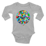 Defacto Mosaic Infant Long Sleeve Bodysuit