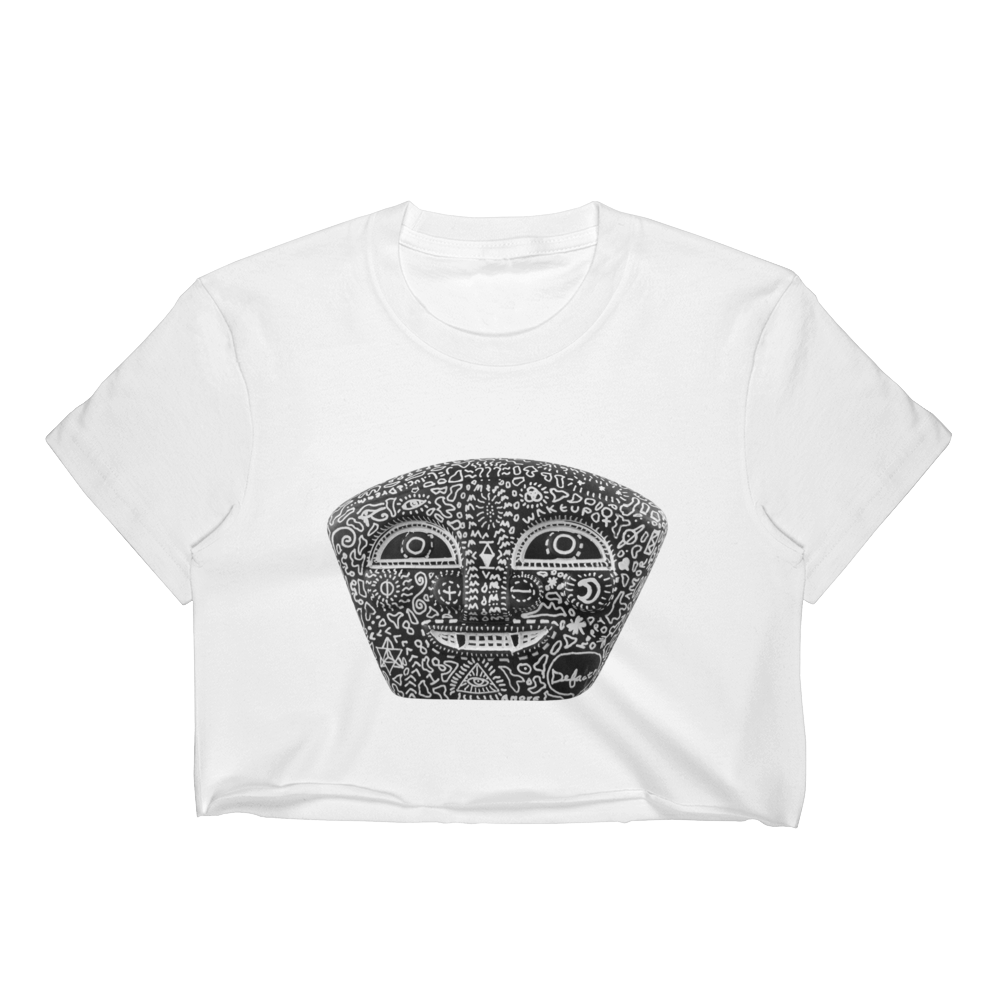 Defacto + Lucid Dreamer ( BlackNegro ) Crop Top
