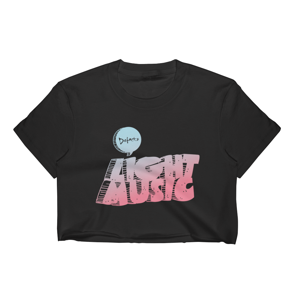 Light Music Women's Crop