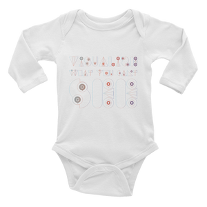 Visualize What You Can't See Infant Long Sleeve Bodysuit