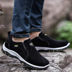 Men's Waterproof Athletic Casual Slip-On Hiking Outdoor Sneakers