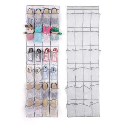 24 Pockets - The Door Hanging Shoe Organizer
