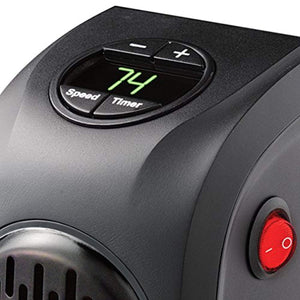 (50% OFF ONLY TODAY)Digital Display Plug-in Personal Heater