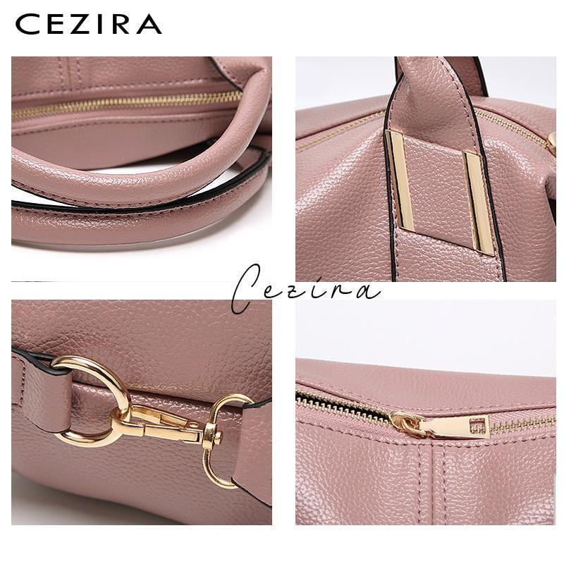 CEZIRA Luxury Vegan Leather Shoulder Bags for Women(50% OFF PROMOTION)