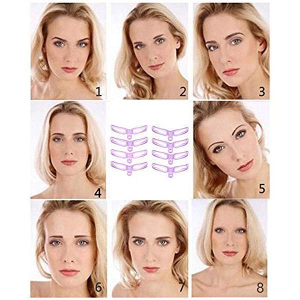 Buy 1 Get 1 Free Now!!!Eyebrow Stencil(16 psc)