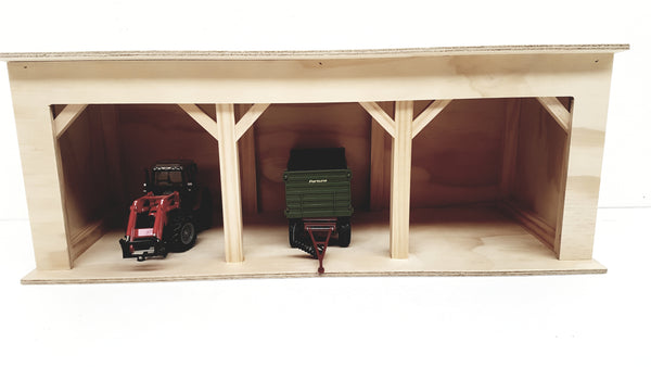 Three Bay Implement Shed