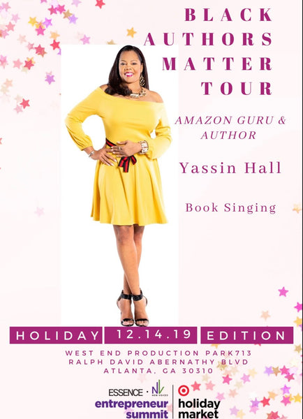 Essence Holiday Atlanta Author Yassin Hall