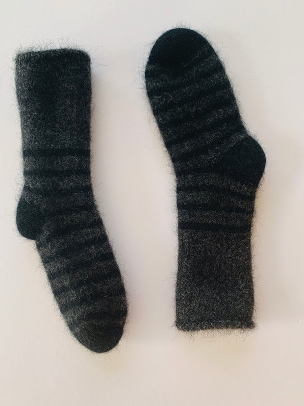 Possum Merino Baby Socks