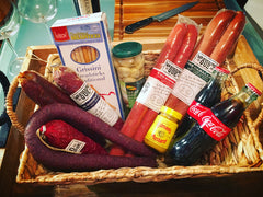 Charcuterie Basket #1/ Mishloach Manot / Superbowl Survival Kit
