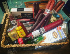 Charcuterie Basket #2/ Mishloach Manot / Superbowl Survival Kit