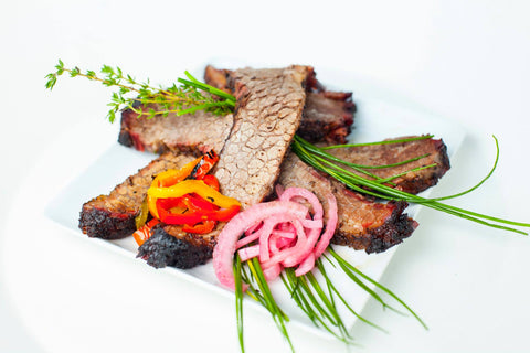 Wandering Que Holiday BBQ Brisket Family Package for 12