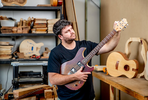 Martin Pratley - Owner of Pratley Guitars