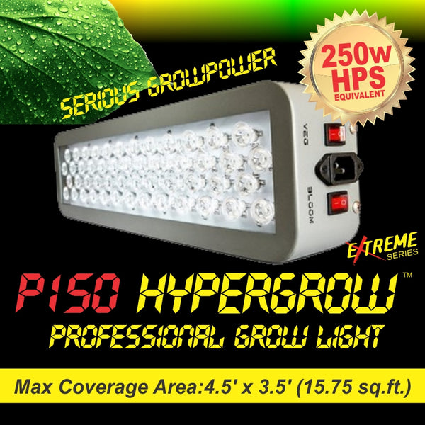 P150 HyperGrow™ Extreme Series Professional Full Spectrum Grow Light