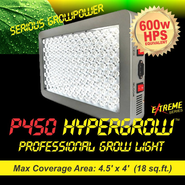 P450 HyperGrow™ Extreme Professional Full Spectrum Grow Light