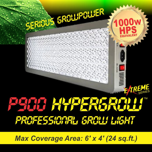 P900 HyperGrow™ Extreme Professional Full Spectrum Grow Light