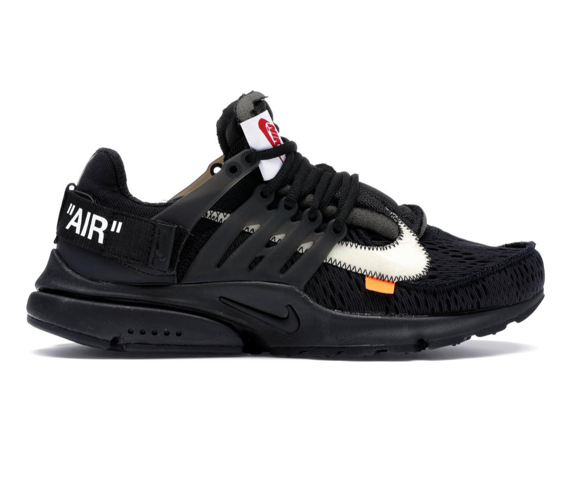 Off White x Nike Air Presto Black