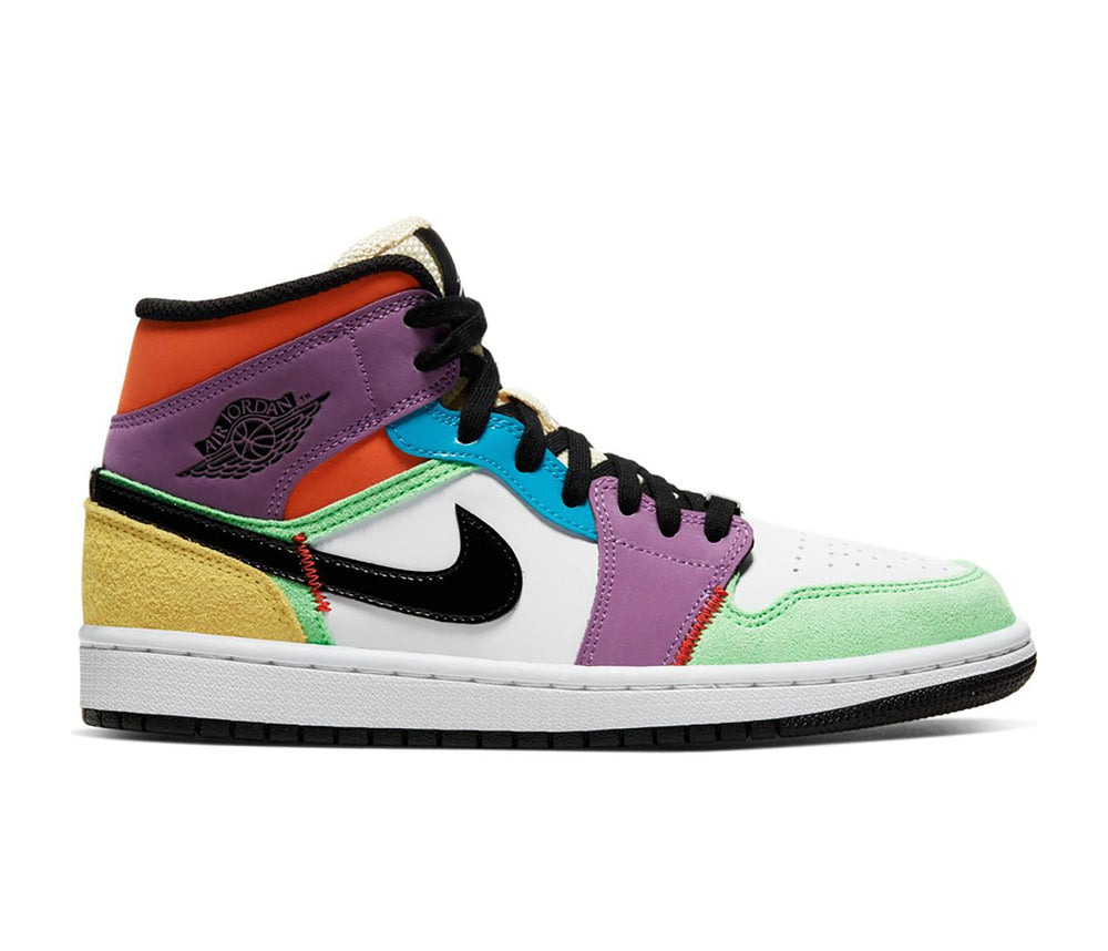 Nike Jordan 1 Mid Multi Colour
