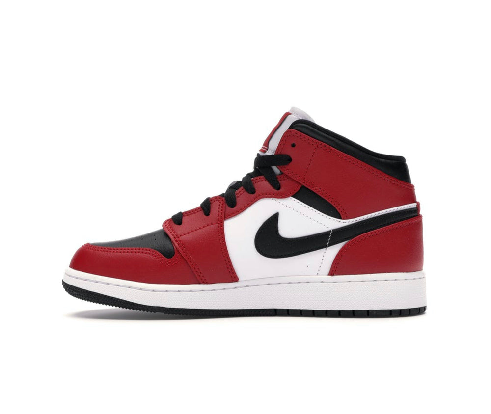 Load image into Gallery viewer, Nike Air Jordan 1 Mid Chicago Black Toe