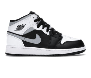 Nike Air Jordan 1 Mid White Shadow