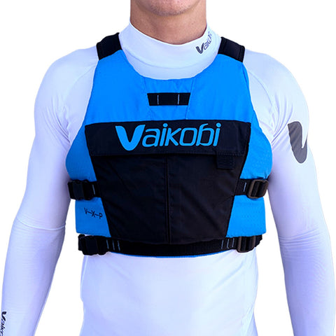 VXP Race PFD - Cyan/Black - Elite Paddle Gear