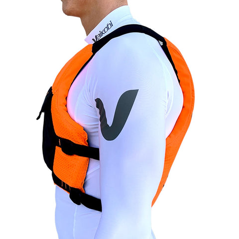 VXP Race PFD - Fluro Orange/Black - Elite Paddle Gear