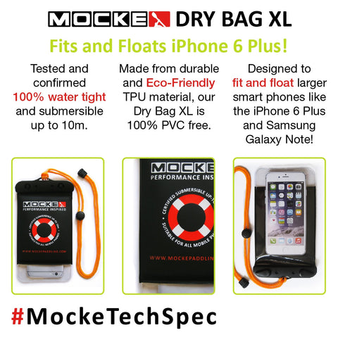 MOCKE Cellphone Dry Bag XL - Elite Paddle Gear