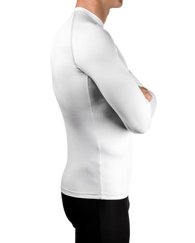 NEW- VOCEAN L/S UV TOP - SILVER - Elite Paddle Gear