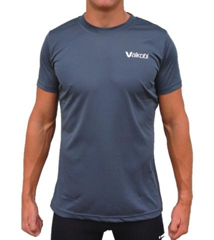 Grey Short Sleeve Shirt Front View
