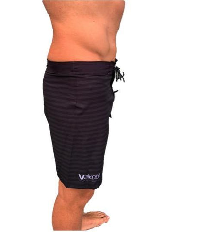 NEW-VAIKOBI PADDLE BOARD SHORTS- BLACK/ GREY - Elite Paddle Gear