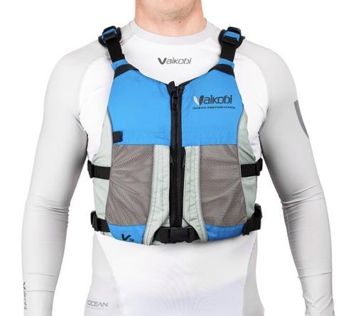 Vaikobi  V3 OCEAN RACING PFD- CYAN - GREY - Elite Paddle Gear