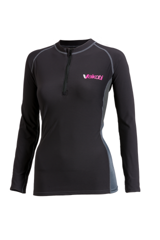 Ladies V Cold Long Sleeve top