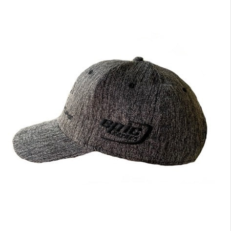 Grey Heather Battle Cap Side view Epic Logo