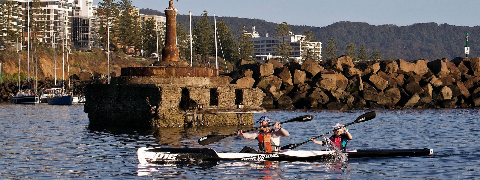 Epic V8 Double Elite Wollongong Harbour