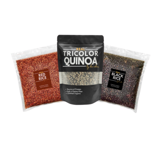 Real Quinoa + Real Black Rice + Real Red Rice Bundle