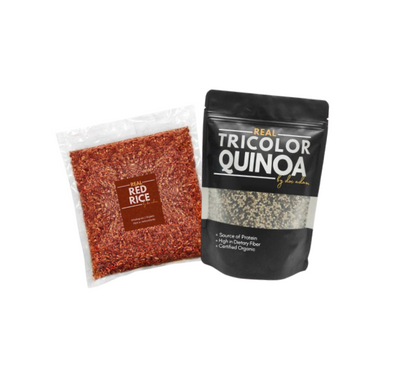 Real Quinoa + Real Red Rice Bundle