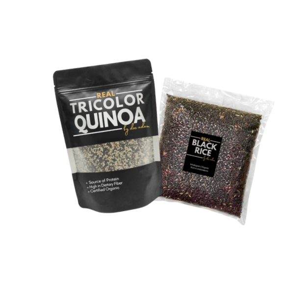 Real Quinoa + Real Black Rice Bundle