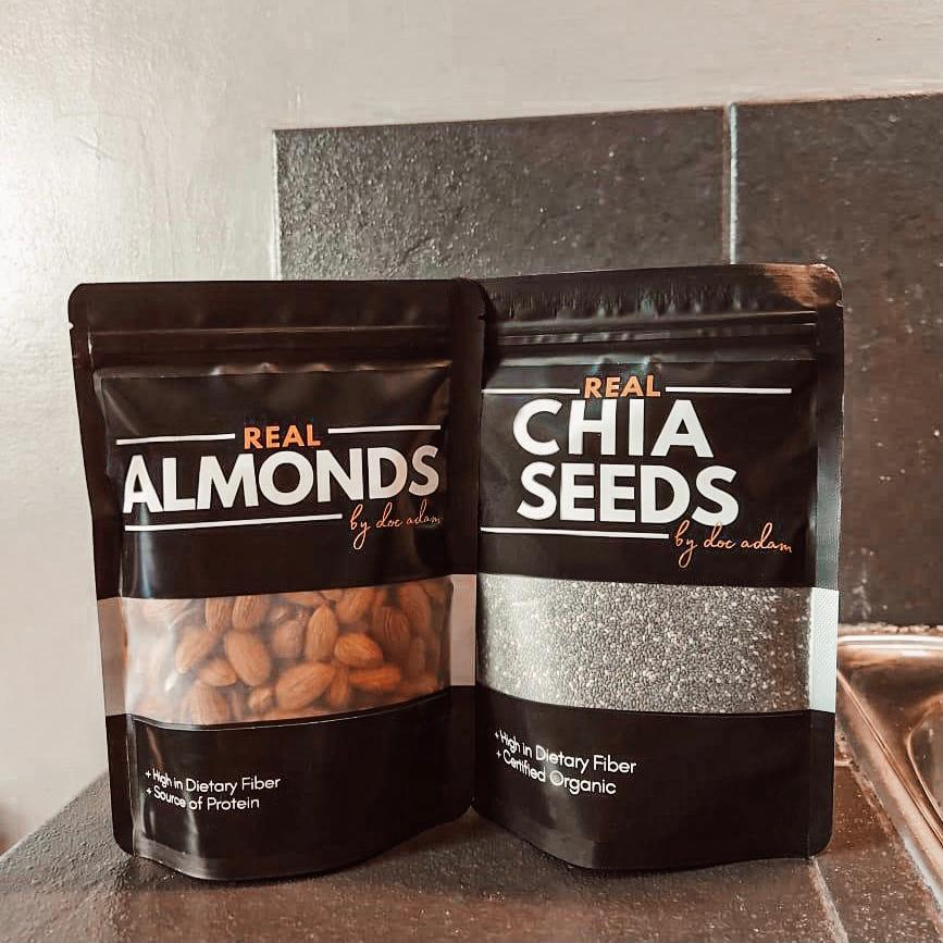 Real Chia Seeds + Real Almonds Bundle