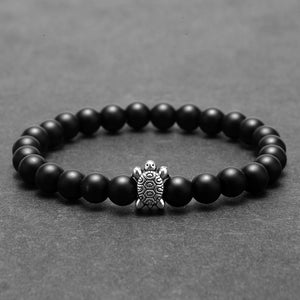 Natural Stone Beads Turtle Bracelets