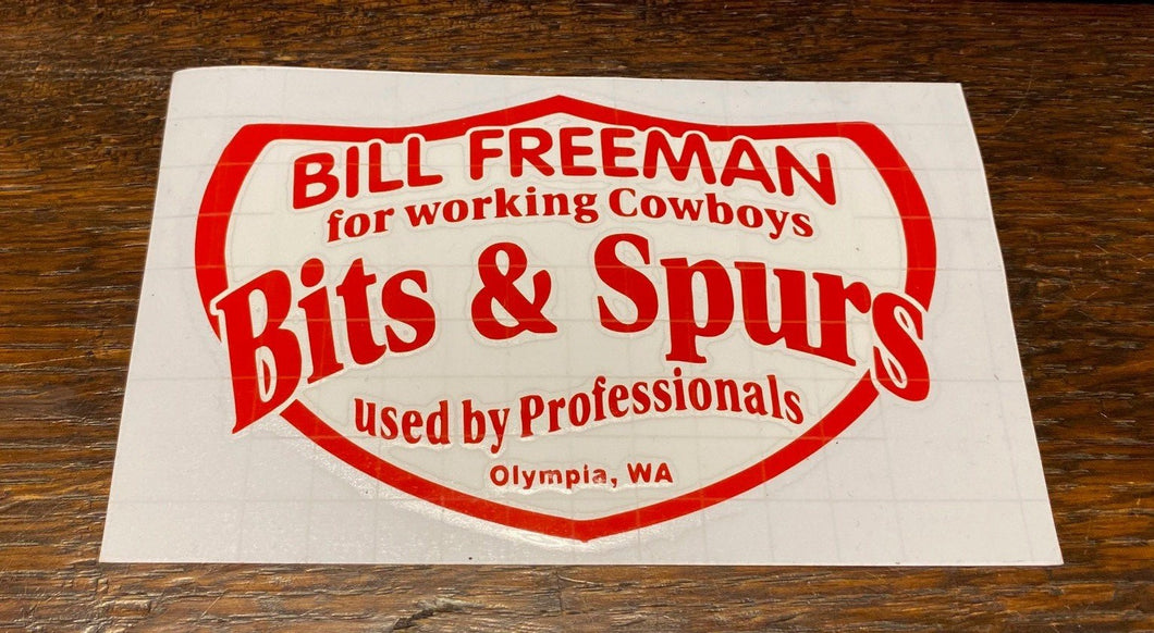TRANSFERT STICKER BILL FREEMAN