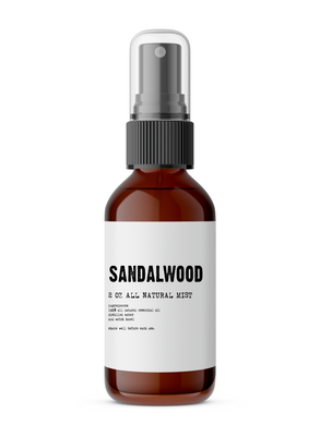 Sandalwood - All Natural Body Mist - BATH HAUS & CO.