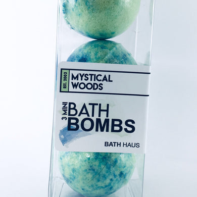 Mystical Woods Bath Bomb 3 Pack - BATH HAUS & CO.
