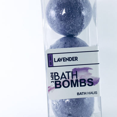 Lavender Bath Bomb 3 Pack - BATH HAUS & CO.