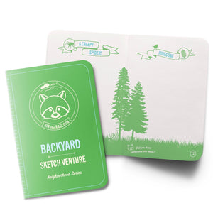 Backyard Nature Guided Sketch Journals - 10 Books