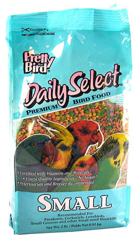 Pretty Pets Pretty Bird Daily Select Premium Bird Food