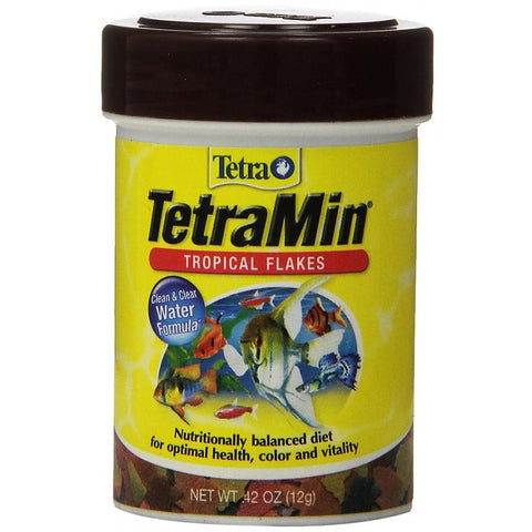 TetraMin Regular Tropical Flakes Fish Food