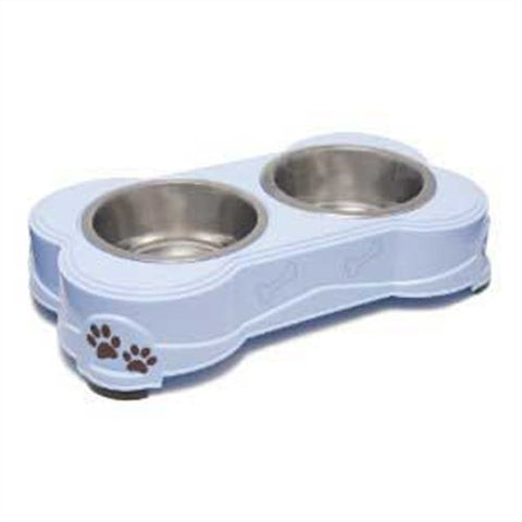 Loving Pets Dolce Diner Dog Bowl - Blue