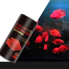 Aike Home Blood Parrot Feed Red Fish Food 265g Tropical Color Crisps with Biotin for Fishes