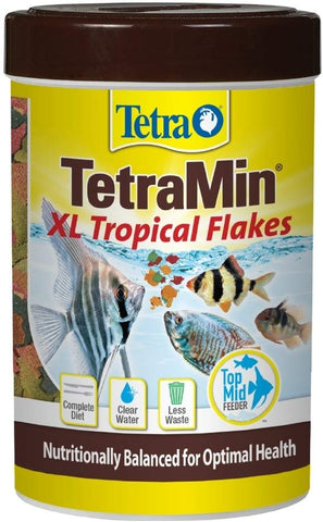 TetraMin Large Tropical Flakes For Top or Mid Feeders
