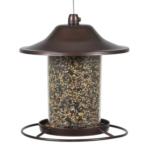 Perky-Pet 312 Panorama Bird Feeder, 2 lbs