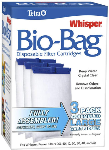 Tetra Whisper Bio-Bag Disposable Filter Cartridge for Aquariums